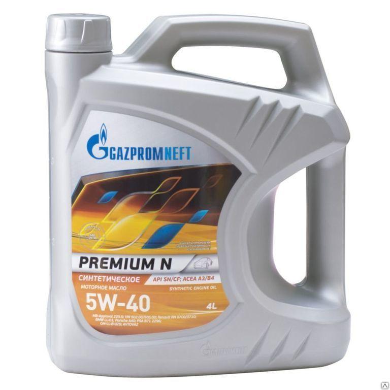Газпромнефть Premium N 5W-40