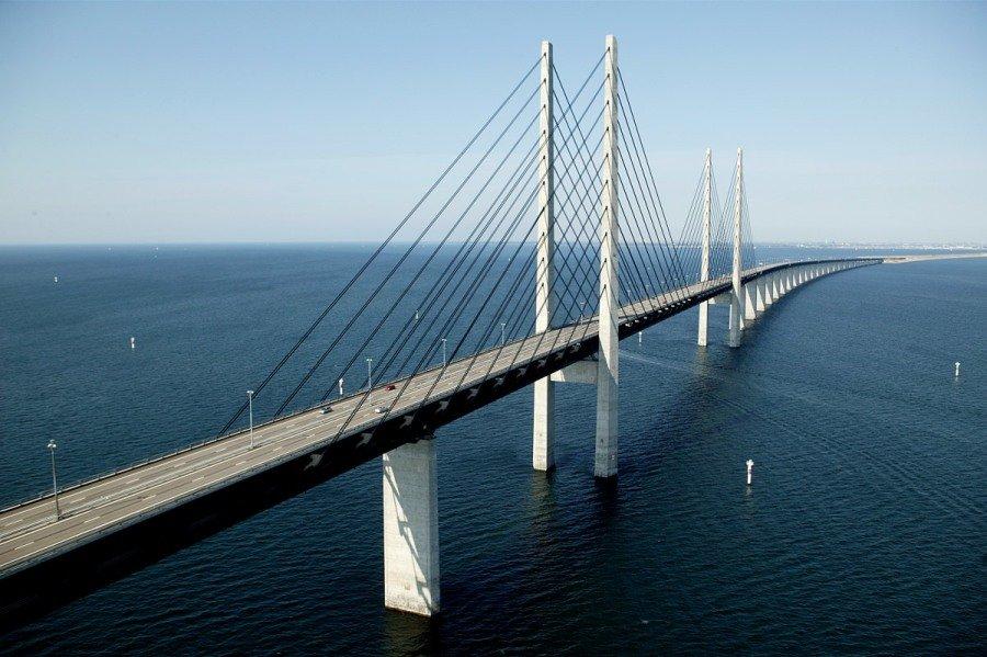 мост между данией и швецией фото сайте найдете современные