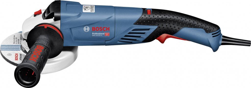 BOSCH GWS 18-125 SL, 1800 Вт, 125 мм