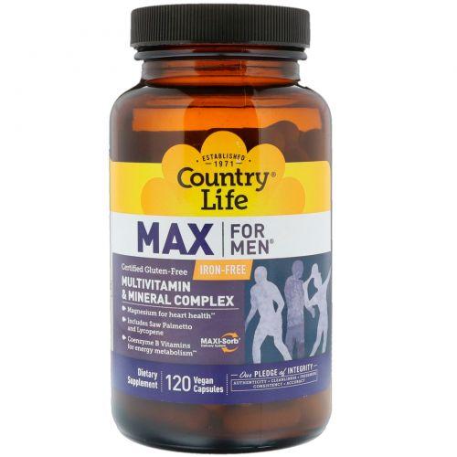 Country Life, Max для мужчин