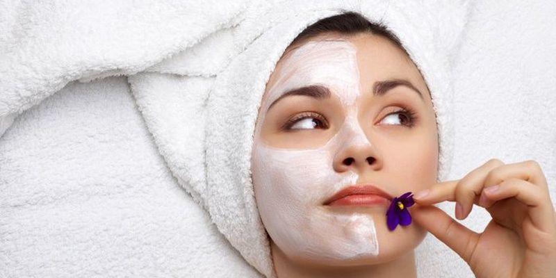 Подготовка кожи и нанесение маски с молоком