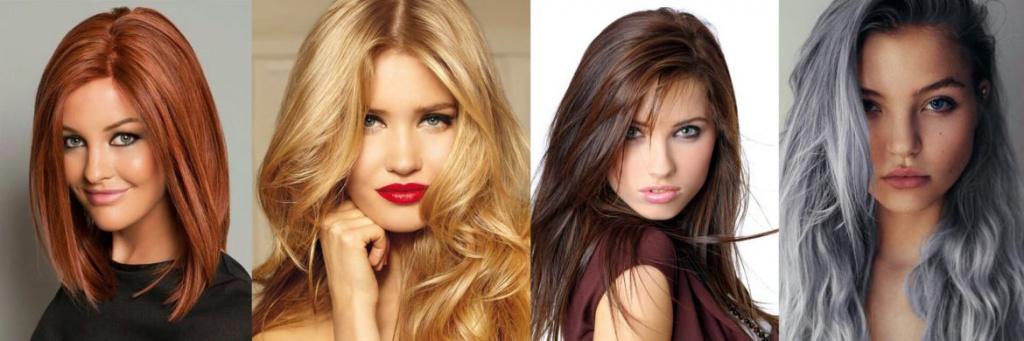 Как правильно подобрать цвета для окрашивание волос 3