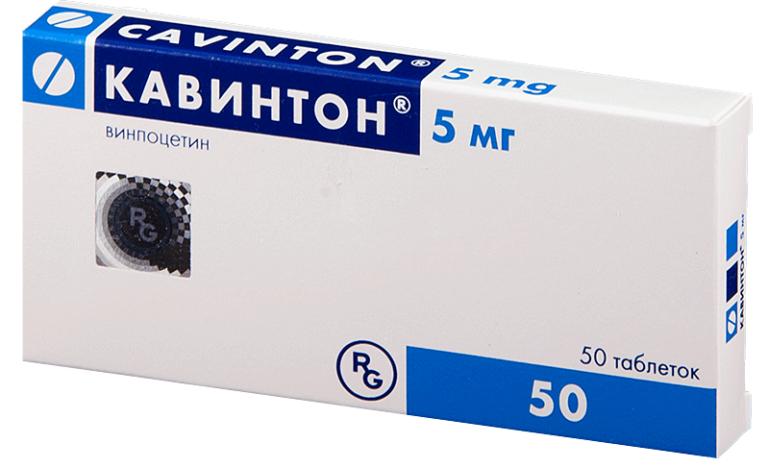 Кавинтон (винпоцетин)