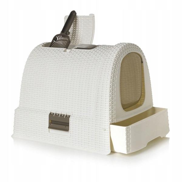 Curver PetLife - Туалет-домик для кошек, 51*39*40см