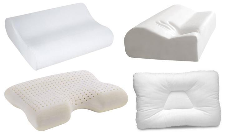 Форма подушек при шейном остеохондрозе