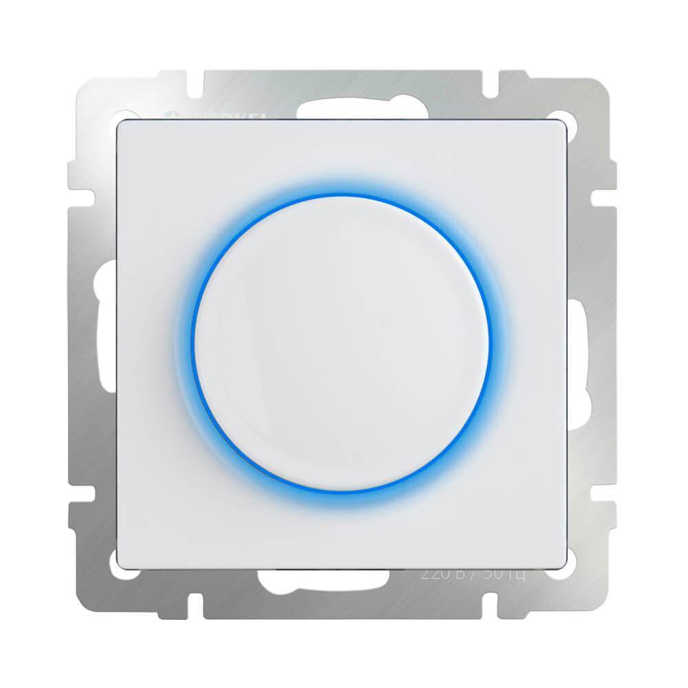Werkel WL01-DM600-LED/ Диммер с подсветкой (белый)