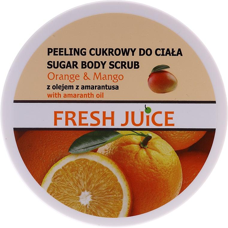 Fresh Juice Sugar Scrub Orange and Mango
