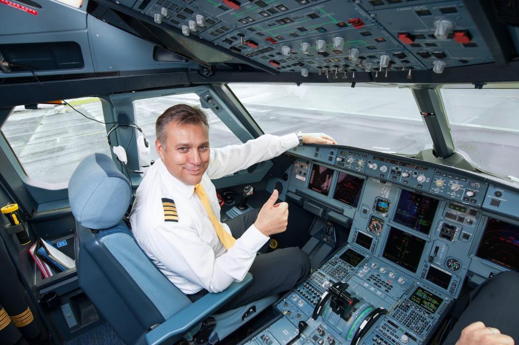 Картинки пилотов в самолете
