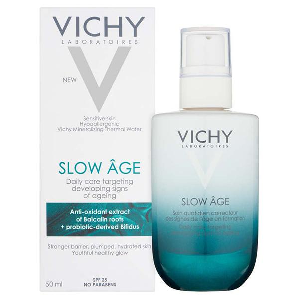 VICHY Укрепляющий уход для коррекции признаков старения на разных стадиях формирования Vichy Slow Age